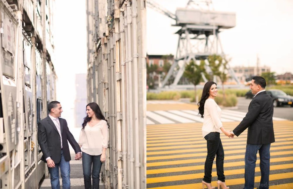 Red Hook engagement photos