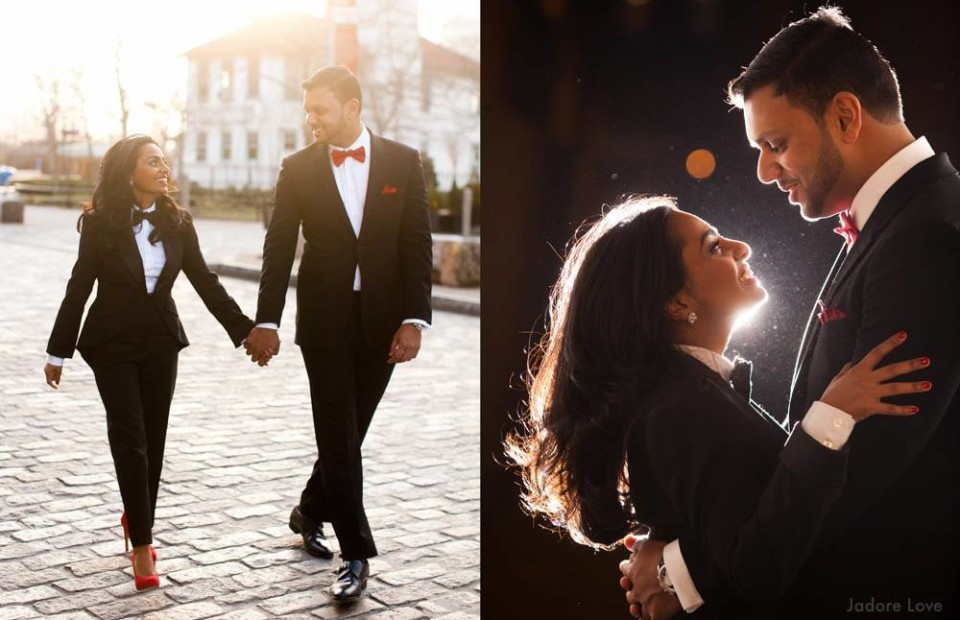 Dumbo Engagement session with a Indian Couple